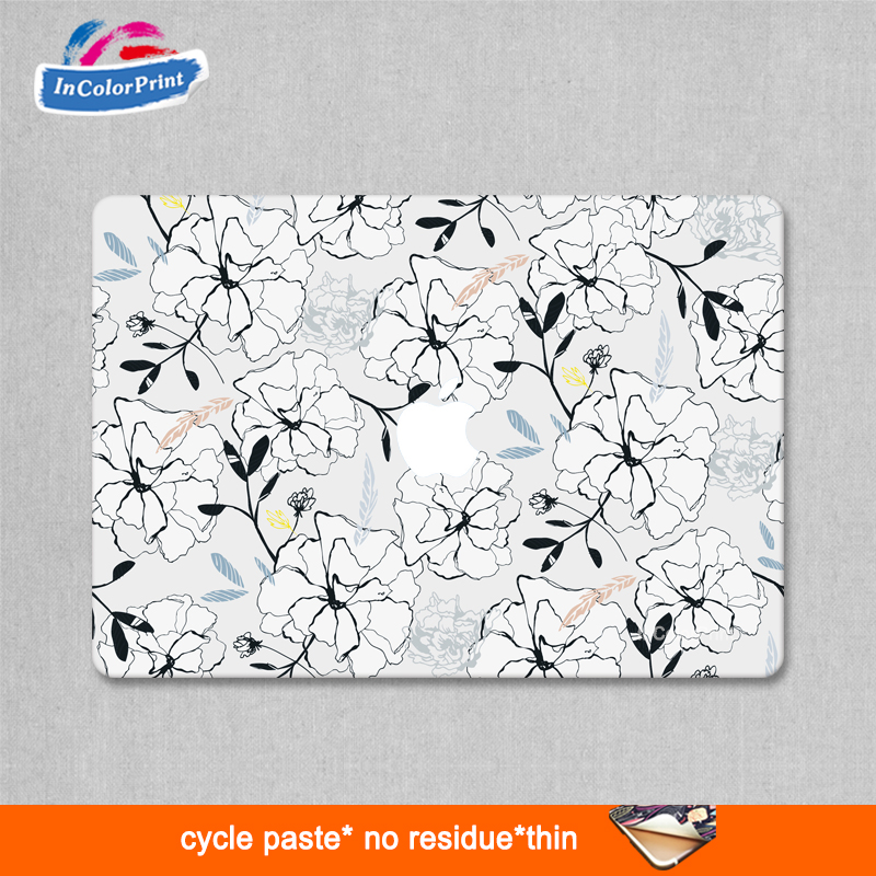 Sticker skin care laptop body new creative personality sticker for macbook pro protective film