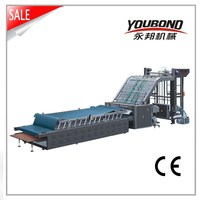 High Speed Automatic Flute Laminating Mmachine