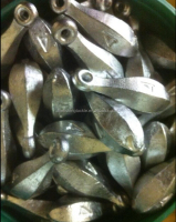 Bank sinkers shape 4OZ lead fishing sinker