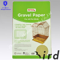 China Eco- friendly pet product birdcage sand wood paper for pet cages