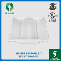 60W LED Ceiling Panel Light Fixture for 2x4 Troffer Recessed 4000K