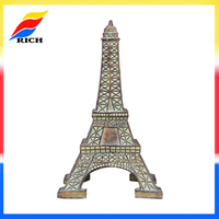 Customized resin mini Eiffel Tower 3d building model