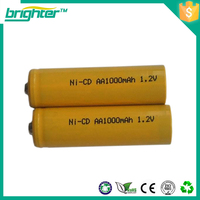 OEM available Ni-Cd AA 1.2v rechargeable battery