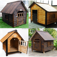 factory cheap sell waterproof outdoor wooden dog kennel designs