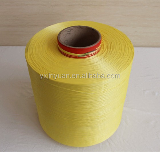 Recycled industrial 100% polyester yarn