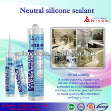 non-toxic china manufacturerglass anti-fungus rtv neutural cure ge silicone sealant