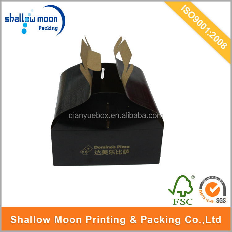 Customized food packaging box for cake and pie