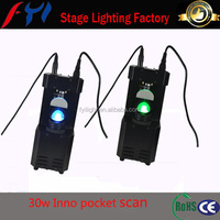 Night club bar 30w Inno pocket scan with gobo and colour wheel stage light