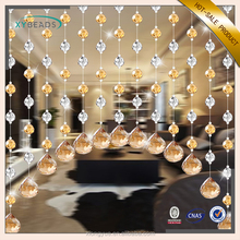 Fashion DIY Interior Decorating Crystal Glass Bead Curtain For Home Decor