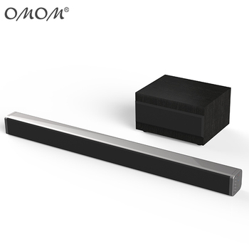 OM-SB50BT 2018 World Cup Soundbar for TV Speaker with Subwoofer Soundbars
