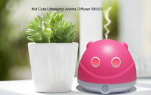 Touch control button 80ML Panda USB Small capacity essential Oil Diffusers top selling oxygen regulator with humidifier