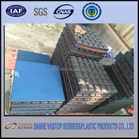 Environmently Friendly Outdoor Rubber Floor Tiles