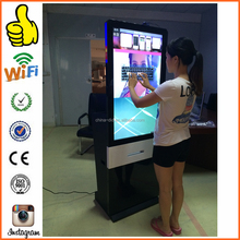 Free standing 55inch touchscreen vending machine portable photo booth