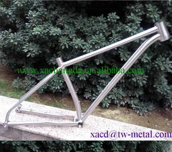 mtb bike frame titanium mtb bicycle frame Chinese made mtb bike frame with cheap price and beautiful design