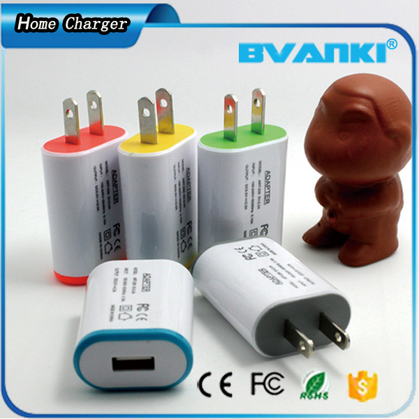 Ultra Convenient Short Circuit Protect Mobile Phone Charger,Light EU/AU/UK/US Plug Mobile Phone Charger For Smartphone