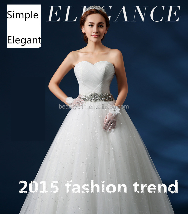 New Style Simple Elegant A-line Sweetheart Neckline Sleeveless Tulle Plus Size /Pregnant wedding dress bridal dress GS18