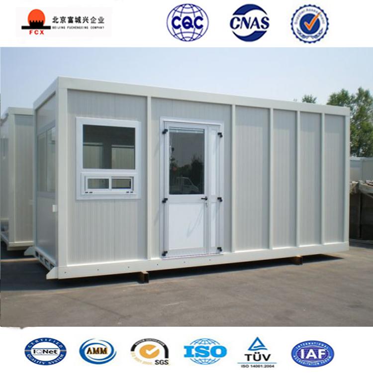 Steel Frame Shipping Container House / Mobile House for Sale