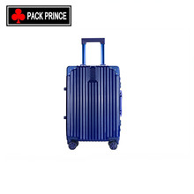 New design nice waterproof travel trolley 100% case aluminium cabin trolley luggage