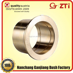 Quality first service best sintered bronze bushing auto body parts oilless bimetal conrod bushing