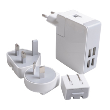 New Products 5V4.8A 4 port usb wall charger for iPhone and iPad