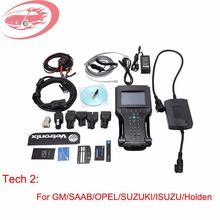 Professional G-M Tech 2 Scanner tool with 32MB Card and TIS2000 Software Support 6 Software