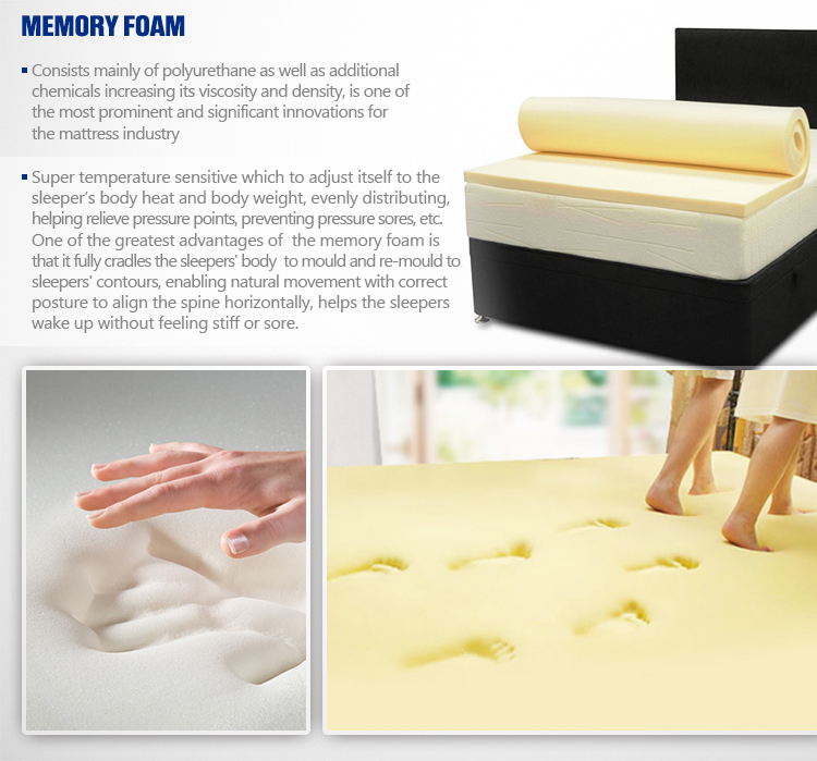 Top zipper design palm coconut fibre mattress - Jozy Mattress | Jozy.net