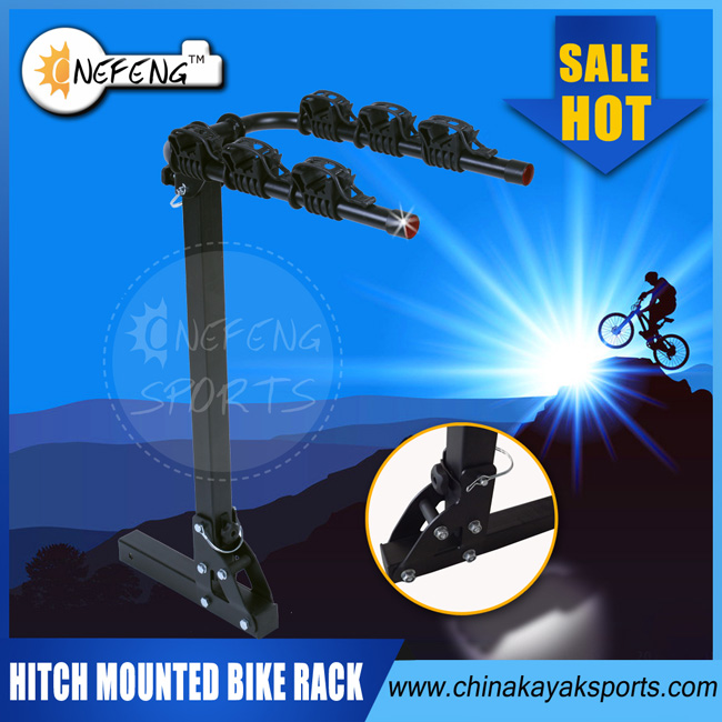 Hitch Mounted Car Bike Racks/3 Bikes Carrier