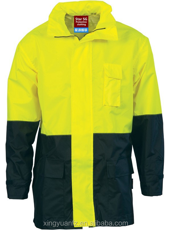 Oxford Polyester Waterproof Softshell Jacket