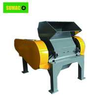 Recycled tires rubber granules crusher machine