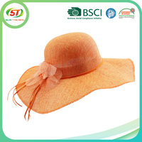 Floppy Straw Hat Wide Brim Summer Beach Hat