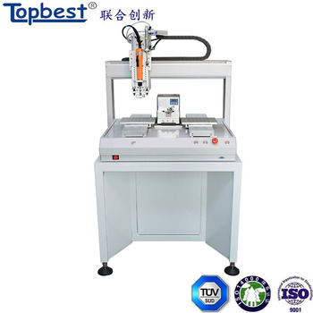 china robotic benchtop electric screwdriver with automatic screw feeder