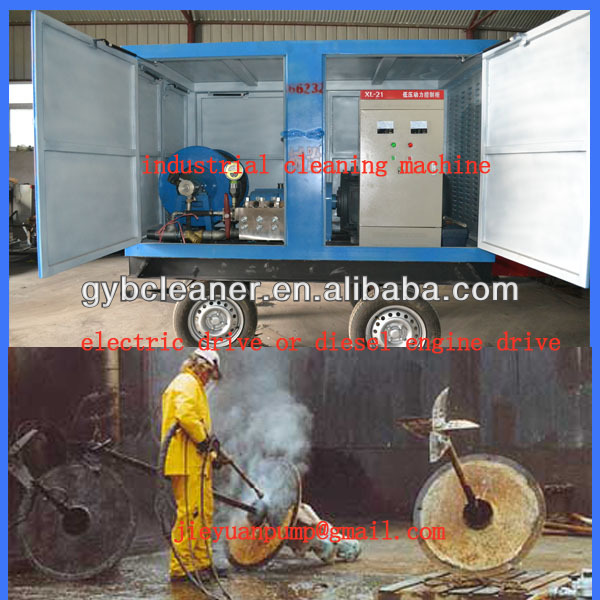 500~1500bar industiral pipe cleaning machine high pressure water jet blaster