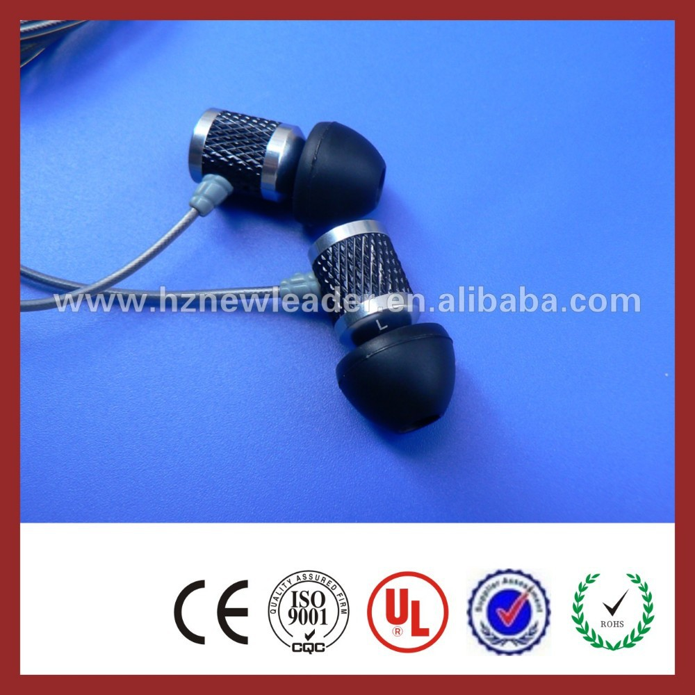 China new products for 2015 idea most popular metal earphone for iphone 3gs