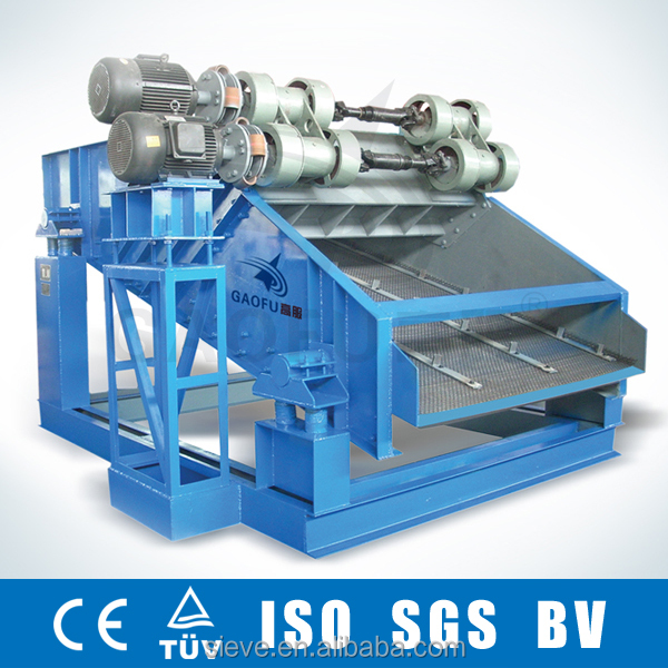 Gaofu ZSG Series heavy vibro sifter for mining industry