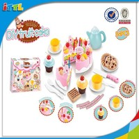 M0117674 Hot selling item cake toys kids pretend play set