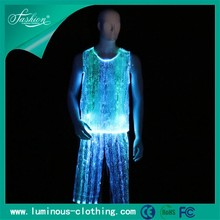 2017 new rave outfit burning man festival fiber optic tank top