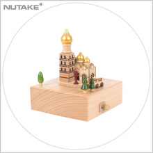 church wooden Gift Nature music boxes