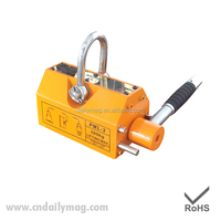 Most Safe And Good After Sales Service 1500Kg/1.5T Manual Type Permanent Lifting Magnet/Hand Magnetic Lifter