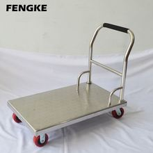 hotel kitchen utensils stainless steel medical hand tool trolley wheel computer trolley