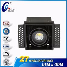 6000K 7W/9W/12W Adjustable Venture Lamp Downlight Fixture Led Grille Light