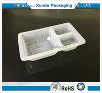 Trade Assurance Wholesale Disposable Plastic Divided Food Tray Microwave