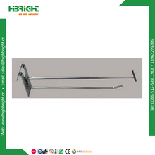 double gridwall hook with overarm for mesh