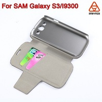 hot sale wallet leather mobile Phone Holster, Case Cover for samsung galaxy s3/I9300