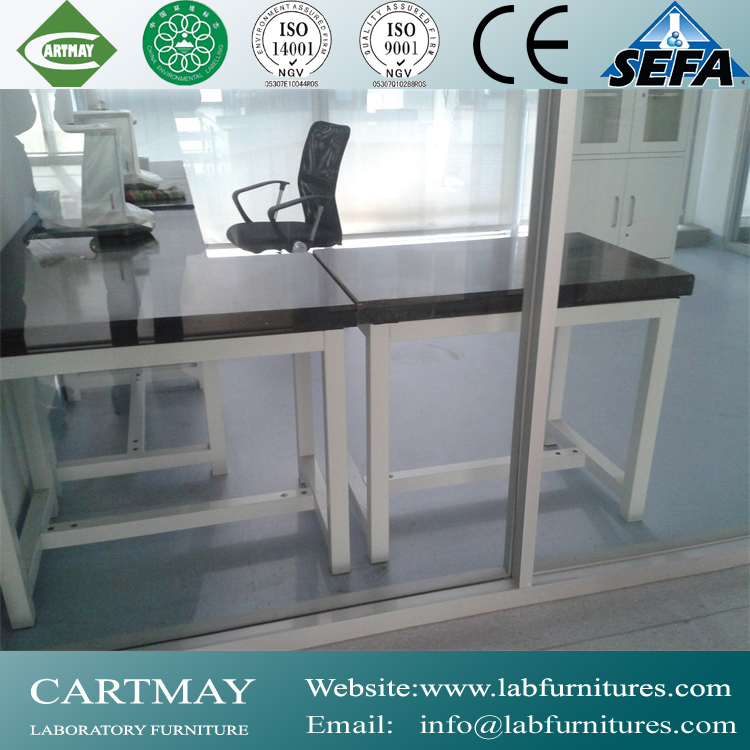 chemistry classroom workbench with phenolic resin worktop for school