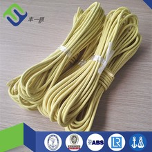 Customized long life barided aramid rope 6mm for fishing hot sale