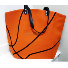 Wholesale Women's Personalized Monogrammed Basketball Tote Bag