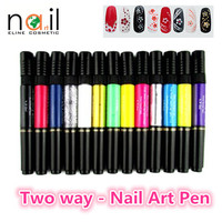 Nail art drawing pen nail polish easy on in stamping nail polish