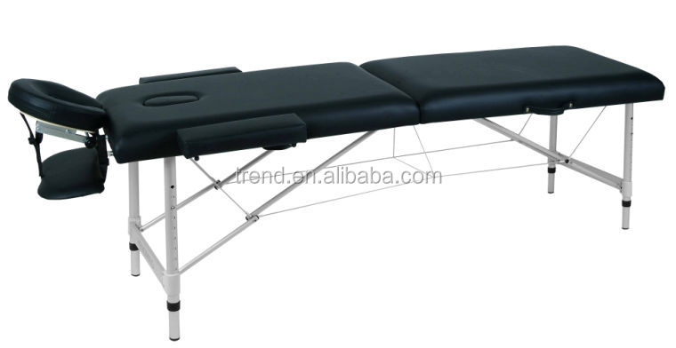 portable aluminum massage desk,table,couch,bed,plank