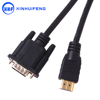 1080P HDMI Male to VGA Male HD 15 Pin M/M Adapter Connector Cable 1m 2m 3m 5m