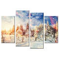 Romantic Winter Scenery Canvas Printing Picture Modern Style Canvas Artwork Wholesale Decorative Canvas Painting